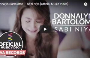 Donnalyn Bartolome - Sabi Niya