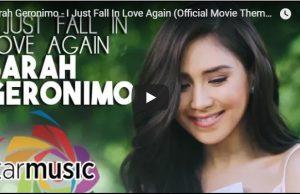 Sarah Geronimo - I Just Fall In Love Again