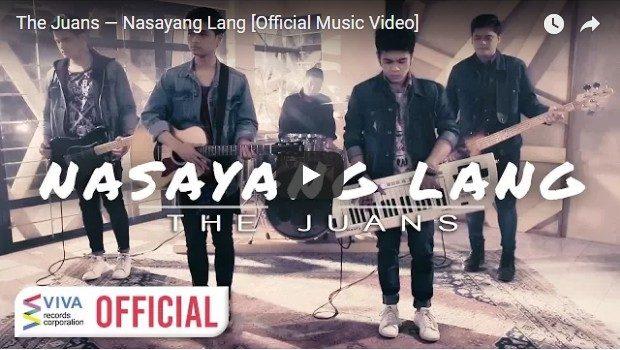 The Juans - Nasayang Lang