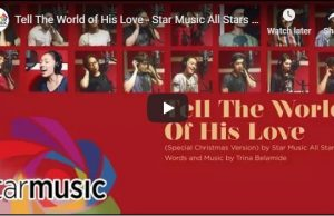 Star Music All Stars - Tell The World of His Love
