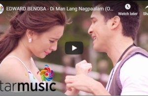 Edward Benosa - Di Man Lang Nagpaalam
