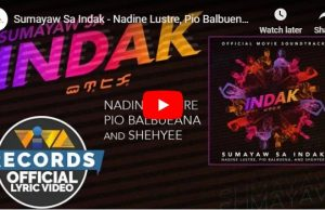 Nadine Lustre, Pio Balbuena and Shehyee - Sumayaw Sa Indak