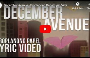 December Avenue – Eroplanong Papel
