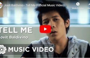 Jovit Baldivino - Tell Me
