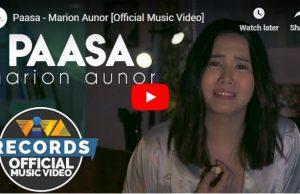 Marion Aunor – Paasa