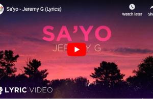Jeremy G - Sa'yo