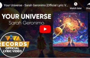 Sarah Geronimo – Your Universe