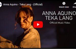 Anna Aquino - Teka Lang